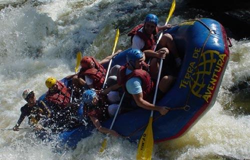 Rafting in Kaligandaki