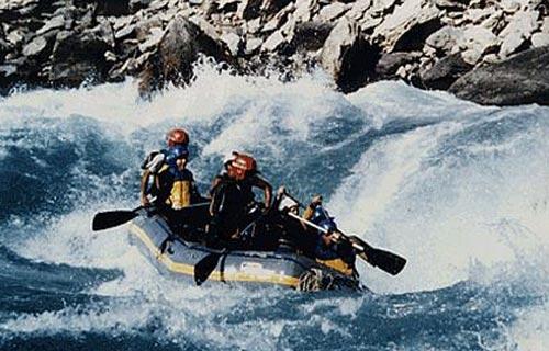 Rafting in Karnali River