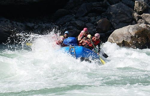 Rafting in Bhote Koshi River